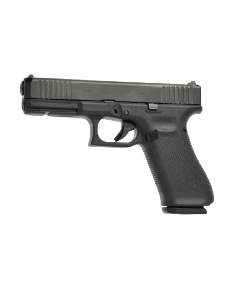 """Glock GLOCK 17 GEN 5 MOS, #PA175S202MOS, 9MM, 4.5"""", 3 MAGS, FRONT SERRATIONS, FIXED SIGHTS"""