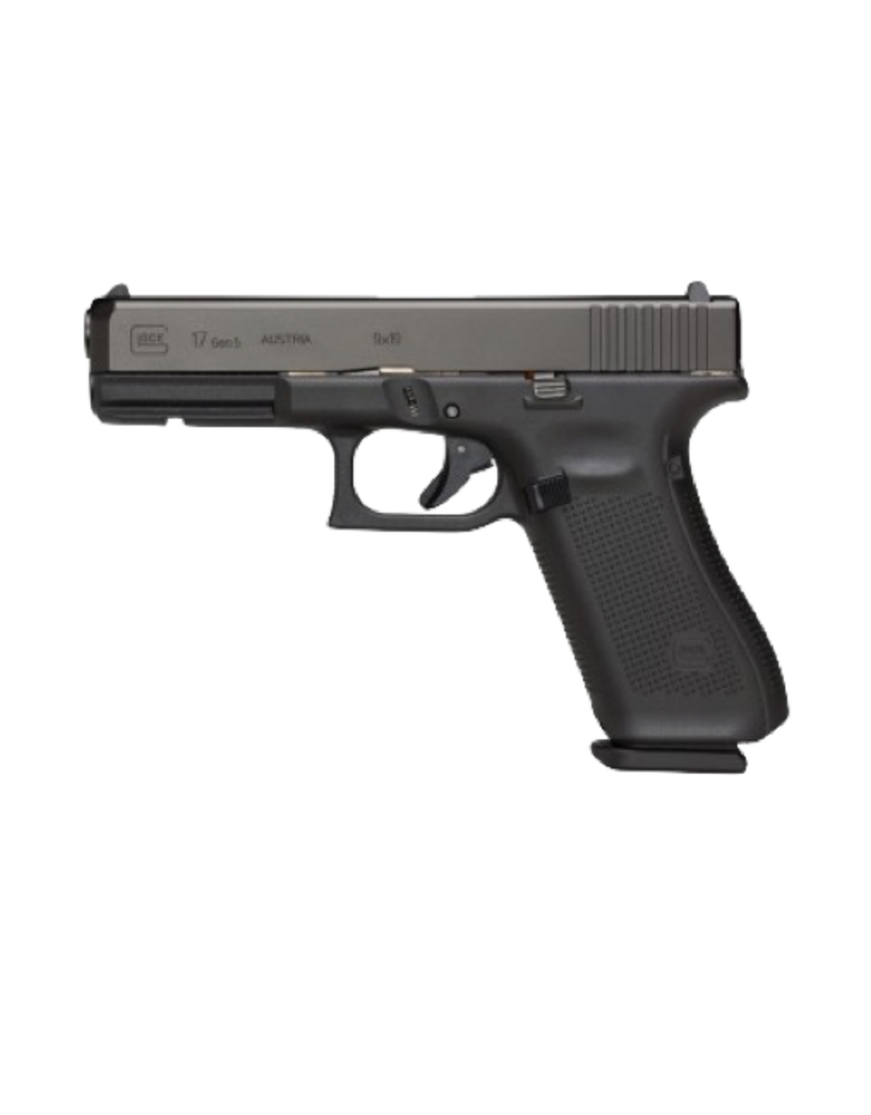 "Glock GLOCK 17 GEN 5, #PA1750202, 9MM, 4.5"", 3 MAGS, FIXED SIGHTS"