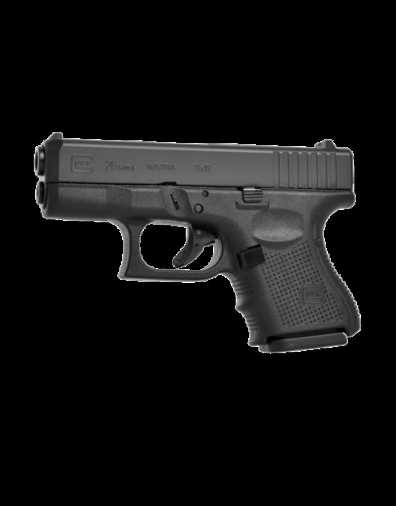 """Glock GLOCK 26 GEN 4, #PG26502, 9MM, 3.5"""", 3 MAGS"""