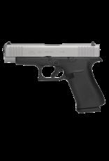 "Glock GLOCK 48, #PA485SL202, 9MM, 4"", SINGLE STACK, 10RD, 2 MAGAZINES, SILVER nPVD"