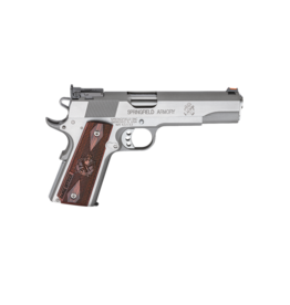 "Springfield Armory SPRINGFIELD 1911A1 RANGE OFFICER, #PI9124L, 45ACP, 5"", STAINLESS, ADJ SIGHTS"