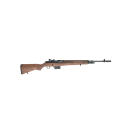 "Springfield Armory SPRINGFIELD M1A, NATIONAL MATCH, #NA9102, .308, 18"", BLUE, CARB BARREL, WALNUT"