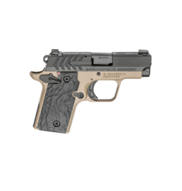 "Springfield Armory SPRINGFIELD 911, #PG9109FN, 380ACP, 2.7"", FDE / NITRIDE FINISH, BLACK GRIPS, 1-6RD AND 1-7RD MAGAZINE"