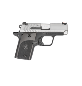 """Springfield Armory SPRINGFIELD 911 ALPHA, 380ACP, #PG9108S, 2.7"""", STAINLESS/BLACK, POLYMER GRIPS"""