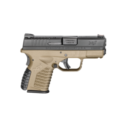 "Springfield Armory SPRINGFIELD XDS-9 FDE, #XDS9339DEE, 9MM, 3.3"", FLAT DARK EARTH  LE/MILITARY/FIRST RESPONDER ONLY"