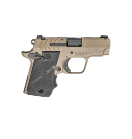 """Springfield Armory SPRINGFIELD 911, #PG9109F, 380ACP, 2.7"""", FDE FINISH, HOGUE GRIPS, 1-6RD AND 1-7RD MAGAZINE"""