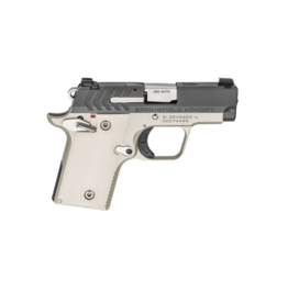 "Springfield Armory SPRINGFIELD 911, #PG9109PG, 380ACP, 2.7"", PLATINUM / GRAPHITE FINISH, POLYMER IVORY GRIPS, 1-6RD AND 1-7RD MAGAZINE"