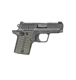 """Springfield Armory SPRINGFIELD 911, #PG9119, 9MM, 3"""", BLACK, G10 GRIPS, 1-6RD AND 1-7RD MAGAZINE"""