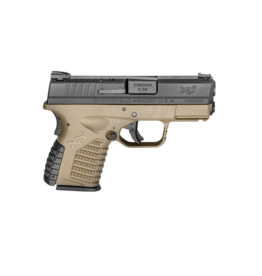 "Springfield Armory SPRINGFIELD XDS-40, #XDS93340DEE, 40S&W, 3.3"", FLAT DARK EARTH, FDE"