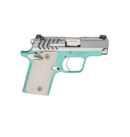 """Springfield Armory SPRINGFIELD 911, #PG9109VBS, 380ACP, 2.7"""", VINTAGE BLUE FINISH, POLYMER IVORY GRIPS, 1-6RD AND 1-7RD MAGAZINE"""