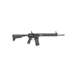 "Springfield Armory SPRINGFIELD SAINT RIFLE, #ST916556BFFH, 5.56, 16"" CHROME MOLY 1:8 BARREL, BLACK, MID-LENGTH GAS SYSTEM, ALLOY FRONT/REAR FLIP UP SIGHT, M-LOK FREE FLOAT HANDGUARD, 1 GEN 3 PMAG, ADJUSTABLE STOCK,"