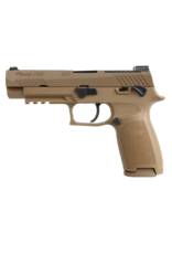 "Sig Sauer SIG SAUER P320F, #320F-9-M17, 9MM, 4.7"", 21RD, COYOTE, SIGLITE NIGHT SIGHTS, OPTIC READY"