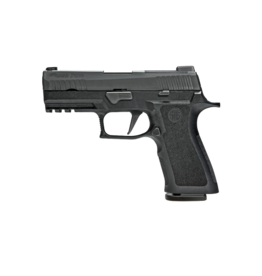 Sig Sauer SIG SAUER P320 X-SERIES, #320XCA-9-BXR3-R2, CARRY VERSION, 9MM, NITRON, X-RAY 3 W/ R2NS PLATE, MODULAR POLY X GRIP, (2) 17RD STEEL MAGAZINES
