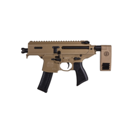 Sig Sauer SIG MPX COPPERHEAD, # PMPX-3B-CH, PISTOL, 3.5IN, PDW, COY, SEMI, PCB, COPPERHEAD, (1) 20RD MAG