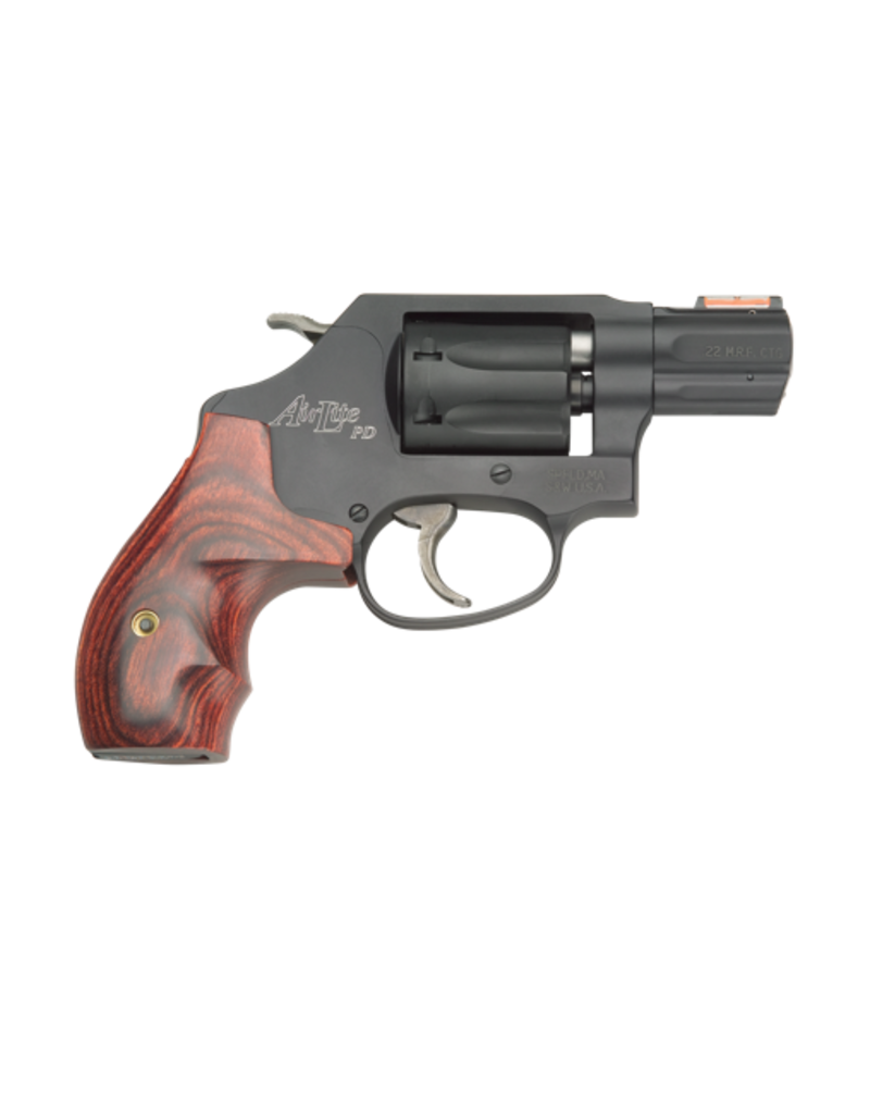 """Smith & Wesson SMITH & WESSON 351PD AIRLITE, #160228, 22MAG, 2"""", BLACK, SCANDIUM"""