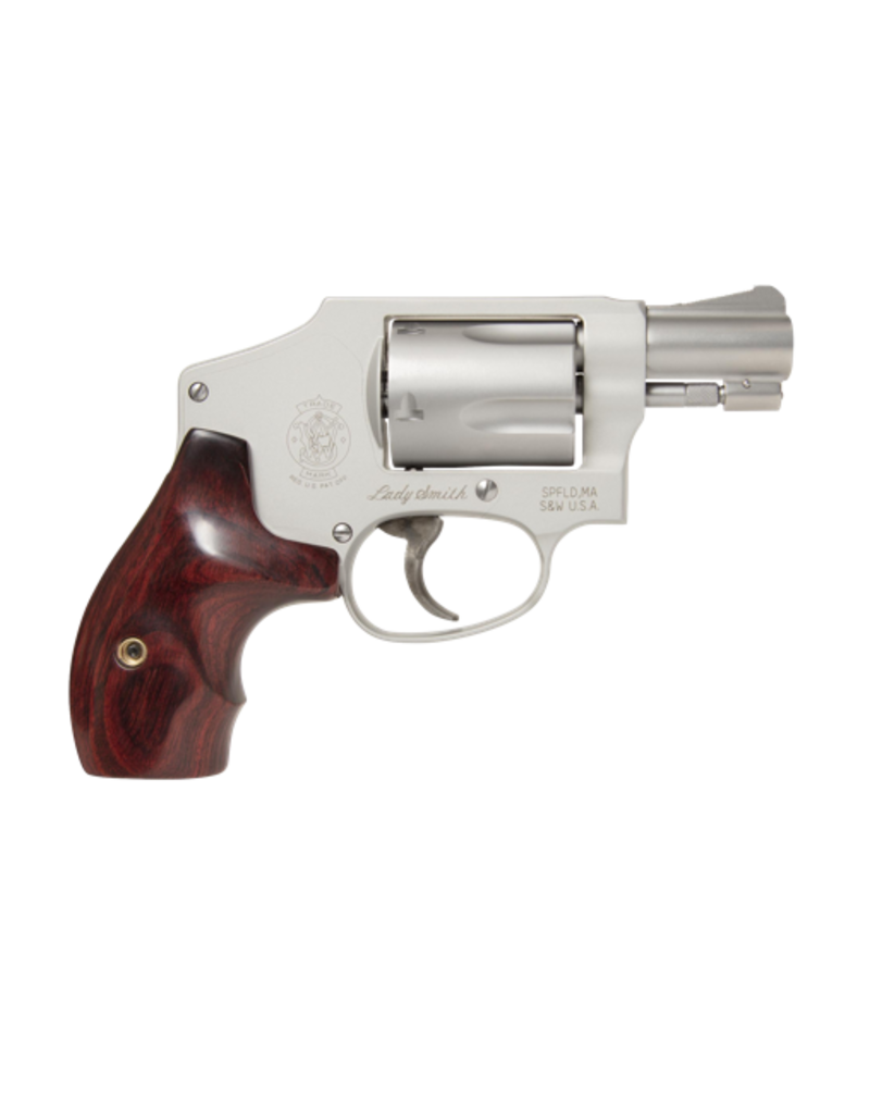 "Smith & Wesson SMITH & WESSON 642LS, #163808, LADYSMITH, 38SPEC, 2"", S/S, HAMMERLESS"