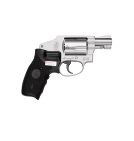 "Smith & Wesson SMITH & WESSON 642CT AIRWEIGHT, #163811, LASER GRIP, 38SPEC, 2"", S/S, HAMMERLESS"