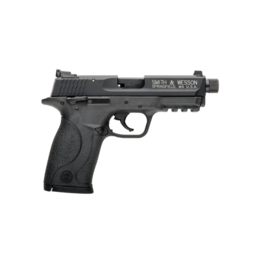 "Smith & Wesson SMITH & WESSON M&P 22 COMPACT PISTOL, #10199, 22LR, 3.56"", BLACK, FIXED SIGHTS, THREADED BARREL"
