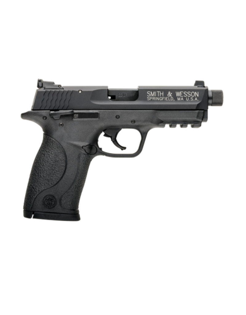 """Smith & Wesson SMITH & WESSON M&P 22 COMPACT PISTOL, #10199, 22LR, 3.56"""", BLACK, FIXED SIGHTS, THREADED BARREL"""