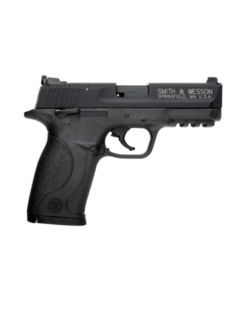 """Smith & Wesson SMITH & WESSON M&P 22 COMPACT PISTOL, #108390, 22LR, 3.56"""", BLACK, FIXED SIGHTS"""