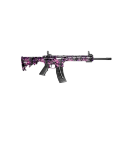 "Smith & Wesson SMITH & WESSON M&P15 22, #10212, 22LR, 16"", PARKERIZED, TRAINER, THREADED BARREL, MUDDY GIRL CAMO"