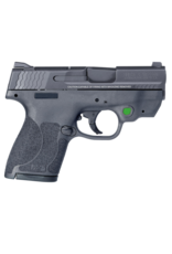 Smith & Wesson SMITH & WESSON M&P 9 SHIELD M2.0, #11903, 9MM, CTC GREEN LASER, NO THUMB SAFETY, 2 MAGAZINES
