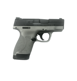 Smith & Wesson SMITH & WESSON M&P 9 SHIELD M2.0, #12398, 9MM, STAINLESS CERAKOTE, BLACK SLIDE, WITH THUMB SAFETY
