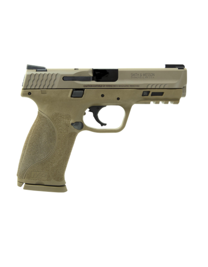 """Smith & Wesson SMITH & WESSON M&P40 M2.0, #11768, 40 S&W, 4.25"""", FDE, ARMORNITE FINISH, TRUGLO TFX NIGHT SIGHTS, NO MAG SAFETY, 15RD, 2 MAGAZINES"""