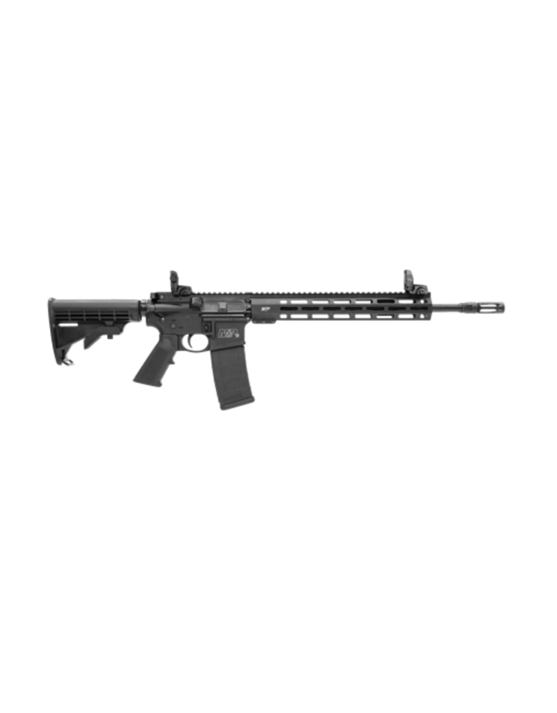 "Smith & Wesson SMITH & WESSON M&P 15T W/ M-LOK, #11600, .223, 16"", 13"" M-LOK FREE-FLOAT RAIL, FLIP-UP FRONT & REAR SIGHT"