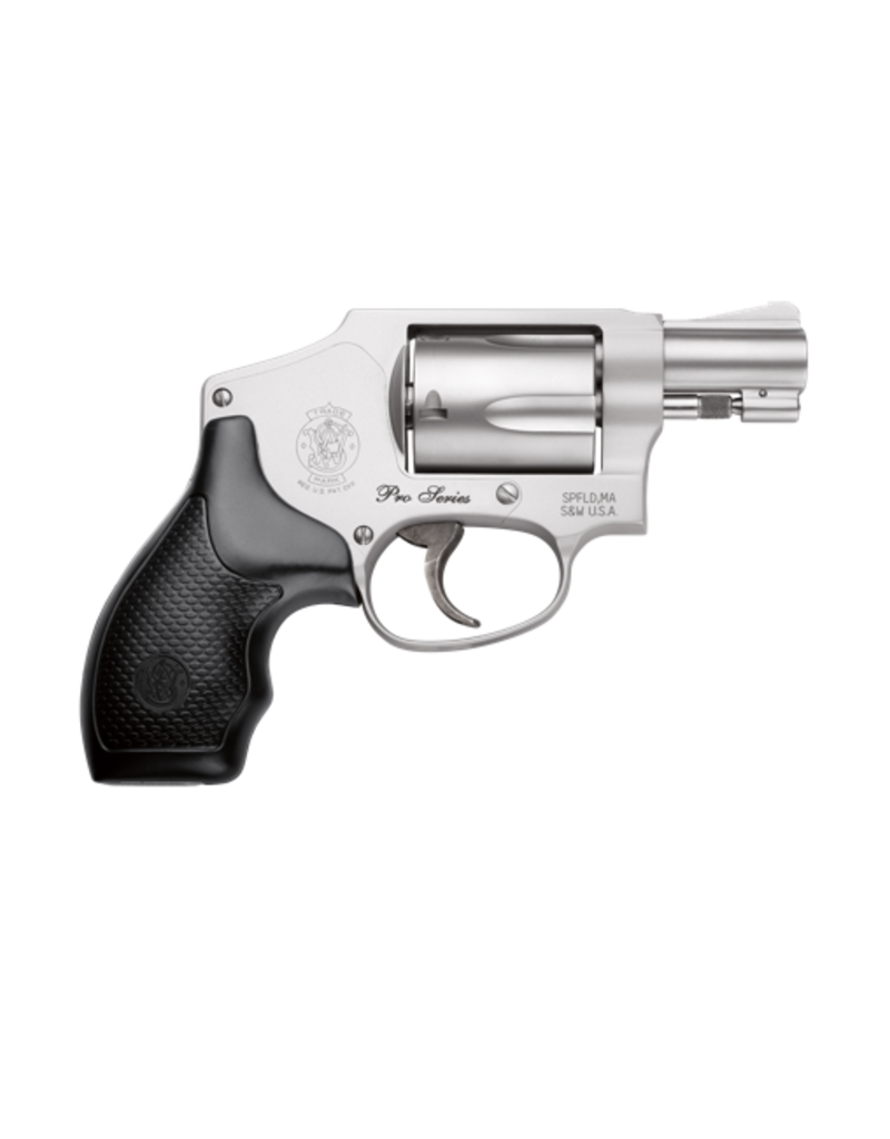 """Smith & Wesson SMITH & WESSON 642 PRO, #178042, 38SPEC, 2"""", S/S, HAMMERLESS, MOON CLIPS"""