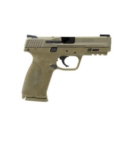 """Smith & Wesson SMITH & WESSON M&P 9 M2.0, #11767, 9MM, 4.25"""", FDE, ARMORNITE FINISH, TRUGLO TFX NIGHT SIGHTS, NO MAG SAFETY, 17RD, 2 MAGAZINES"""