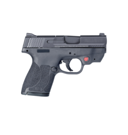 Smith & Wesson SMITH & WESSON M&P 40 SHIELD M2.0 CRIMSON TRACE LASER, #11672, .40S&W, THUMB SAFETY, 2 MAGAZINES