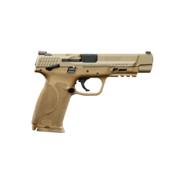 "Smith & Wesson SMITH & WESSON M&P 40 M2.0, #11595, 40S&W, 5"", ARMORNITE FINISH, FDE FRAME, FIXED SIGHTS, THUMB SAFETY, 2 MAGAZINES"