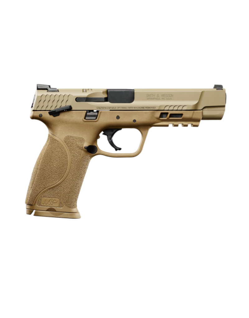 """Smith & Wesson SMITH & WESSON M&P 40 M2.0, #11595, 40S&W, 5"""", ARMORNITE FINISH, FDE FRAME, FIXED SIGHTS, THUMB SAFETY, 2 MAGAZINES"""