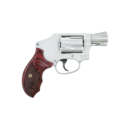 "Smith & Wesson SMITH & WESSON 642 PERFORMANCE CENTER ENHANCED ACTION, #170348, 38SPEC, +P RATED, 2"", S/S, HAMMERLESS, ENHANCED ACTION, WOOD GRIPS, NO LOCK"
