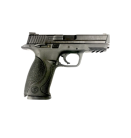 "Smith & Wesson SMITH & WESSON M&P 40, #306700, 40S&W, 4.2"", ARMORNITE, NIGHT SIGHTS, NO MAG SAFETY, THUMB SAFETY"