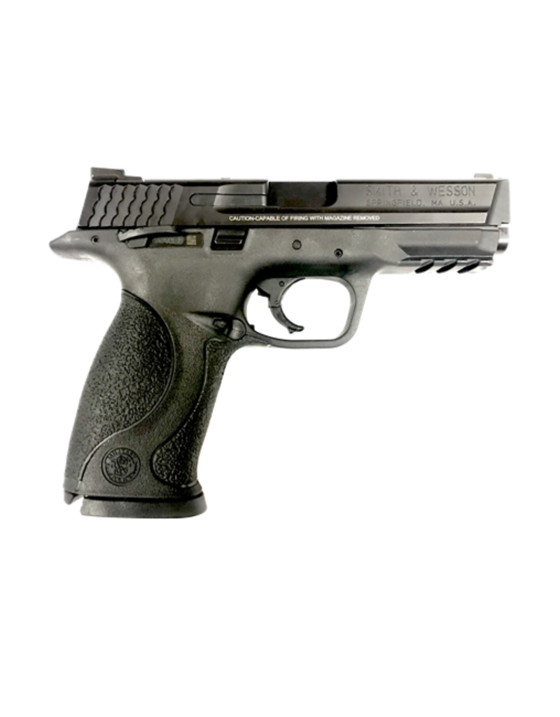 "Smith & Wesson SMITH & WESSON M&P 40, #306700, 40S&W, 4.2"", ARMORNITE, NIGHT SIGHTS, NO MAG SAFETY, THUMB SAFETY - DISC"