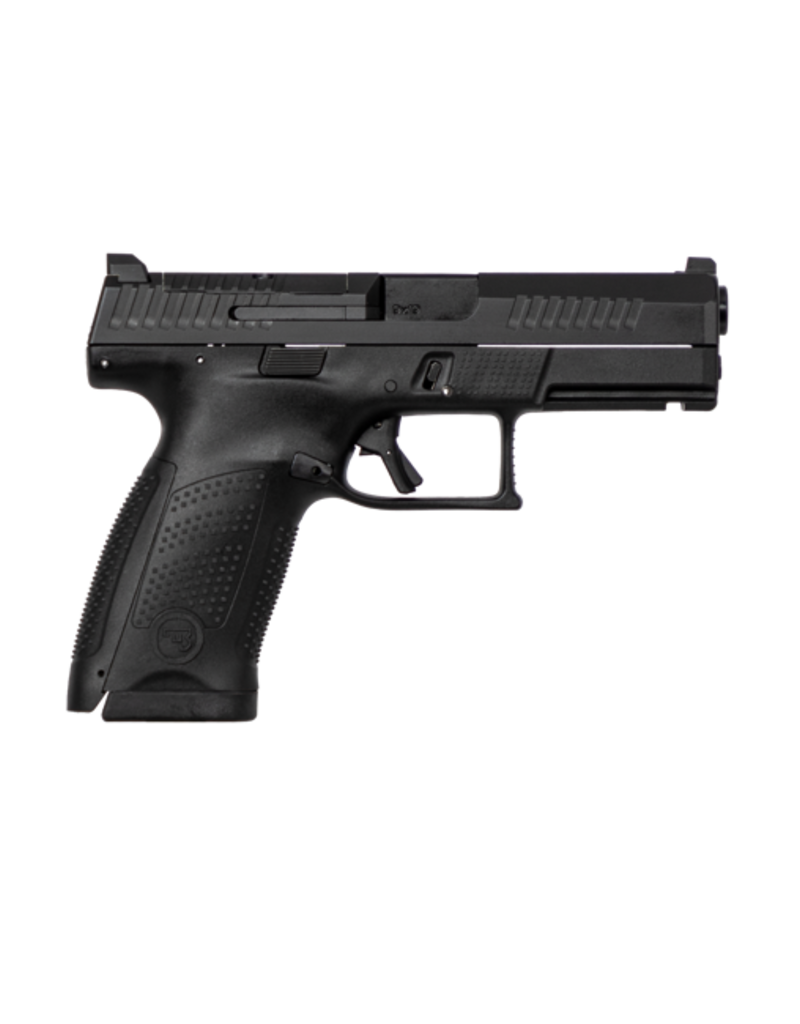CZ CZ P-10 COMPACT, #95130, 9MM, 15RDS, BLACK, FRONT NIGHT SIGHT, OPTIC READY, REVERSIBLE MAG CATCH