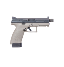 "CZ CZ P-10 COMPACT, #91519, 9MM, 4.61"", URBAN GREY, NIGHT SIGHTS, THREADED BARREL, 17RD MAGAZINES - disc"