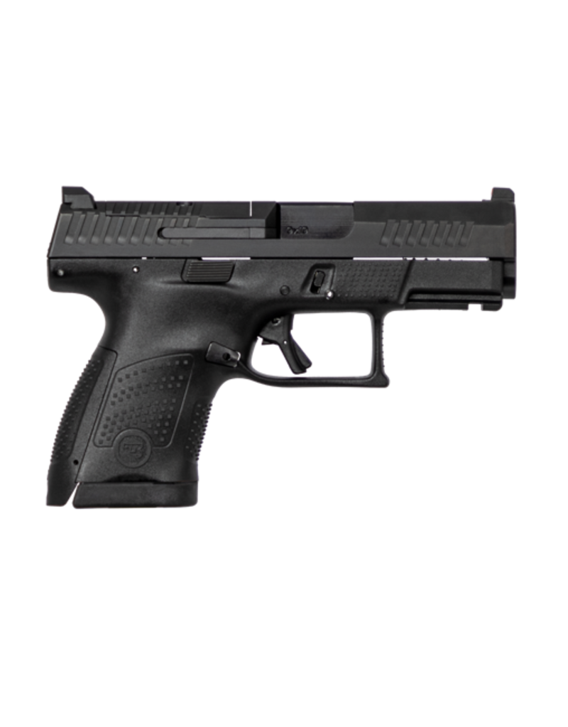 CZ CZ P-10S SUB-COMPACT, #95170, 9MM, 12RDS, BLACK, FRONT NIGHT SIGHT, OPTIC READY, REVERSIBLE MAG CATCH