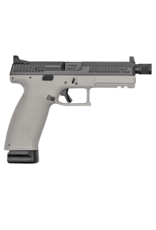 CZ CZ P-10 FULL, #91544, 9MM, 21RDS, URBAN GREY, SUPPRESSOR READY, NIGHTS SIGHTS, REVERSIBLE MAG CATCH