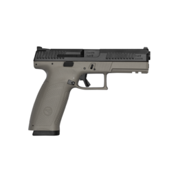 CZ CZ P-10 FULL, #91541, 9MM, 19RDS, FDE FRAME, NIGHTS SIGHTS, REVERSIBLE MAG CATCH