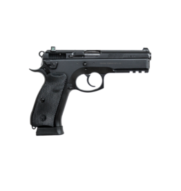 CZ CZ 75 SP-01, #91153, 9MM, BLACK, TACTICAL RAIL, ALL STEEL, 19 RDS