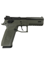 "CZ CZ P-09, #91268, 9MM, 4.5"", OD GREEN, NIGHT SIGHTS, 19RDS"