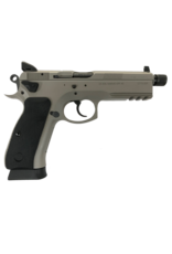 CZ CZ 75 SP-01 TACTICAL URBAN GREY, #91253, 9MM, NIGHT SIGHTS, SAFETY & DECOCKER, THREADED BARREL