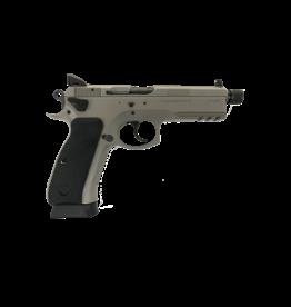CZ CZ 75 SP-01 TACTICAL URBAN GREY, #91253, 9MM, NIGHT SIGHTS, SAFETY & DECOCKER, THREADED BARREL