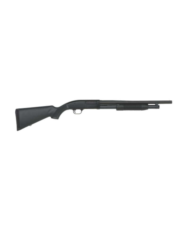 "Mossberg/Maverick MOSSBERG MAVERICK 88 RIOT, #31023, 12GA, 18.5"", BLUE, PUMP, SYNTH, 6 SHOT"