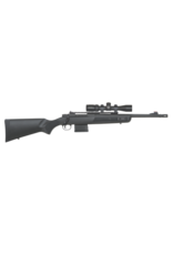 """Mossberg/Maverick MOSSBERG MVP SCOUT, #27793, 308WIN, 11"""" FORWARD MOUNTED PICATINNY RAIL, GHOST RING REAR SIGHT, PICATINNY RAILS ON SIDE OF FOREND, TACTICAL BOLT HANDLE, 1-10 ROUND MAGAZINE, VORTEX OPTICS SCOUT 2-7X SCOPE, SLING"""