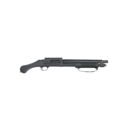 "Mossberg/Maverick MOSSBERG 590 SPX, #50648, 12GA, SHOCKWAVE SECURITY, BREACHER,14"" BARREL, HEAT SHIELD, BEAD SIGHT, NO NFA STAMP REQUIRED, 6 SHOT"