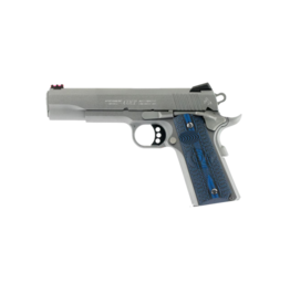 "Colt COLT COMPETITION 1911, 45 ACP, STAINLESS, 5"", FIBER OPTIC FRONT SIGHT"